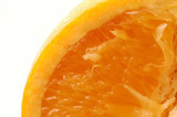 navel orange macro vertical poster