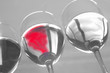 red wine abstract