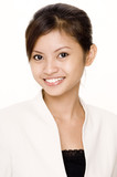 smiling businesswoman 5 poster