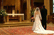 bride and groom at altar (closeup)