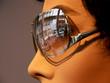 lunettes et reflets