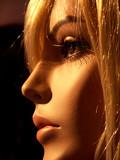 blonde à contre jour poster