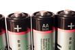 Leinwanddruck Bild - batterien 04