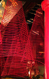 red incense coils poster