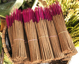 bunch of incense sticks poster