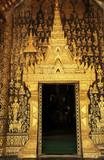 laos, luang prabang: temple poster