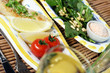lemon, fish & spinach salad