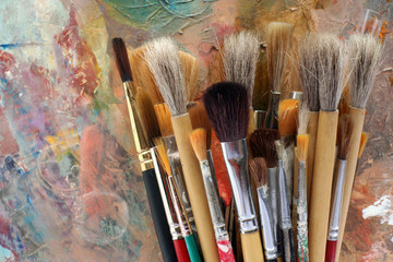 brush selection