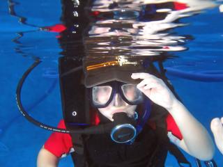 child scuba