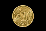 ten euro cent coin poster