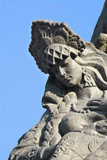 russian girl tsarevnal-fragment of a sculpture poster