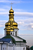 orthodox golden domes poster