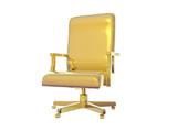 golden chair poster