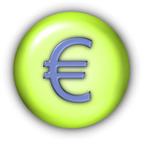 currency icon - euro poster