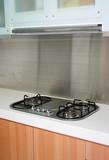 stove at kitchen poster