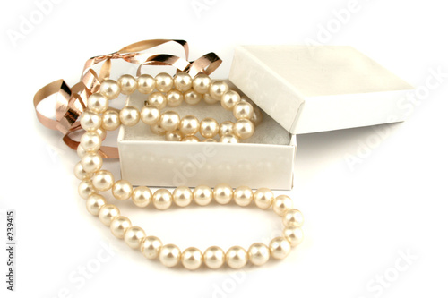 Leinwandbild Motiv pearls