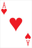 ace of hearts poster