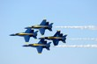 Leinwandbild Motiv blue angels homecoming pensacola florida