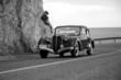 roleta: coche antiguo