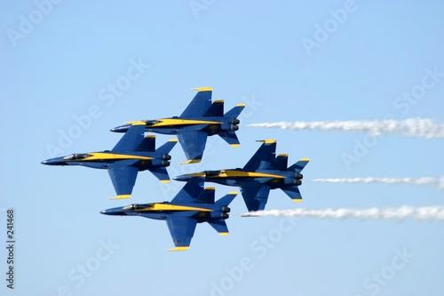Fotobehang Luchtsport blue angels homecoming pensacola florida