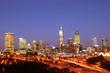 city of perth night scene
