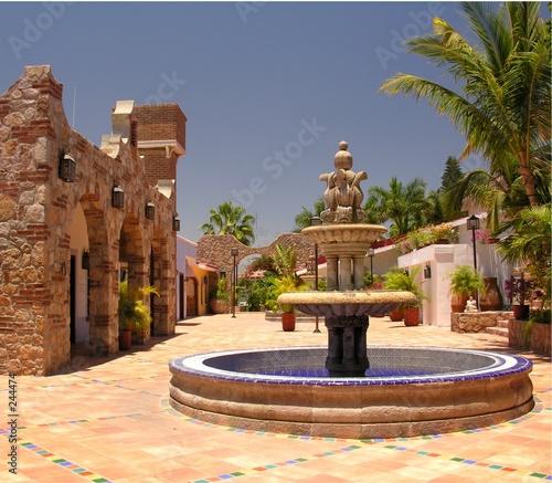 mexican fountain - 244474