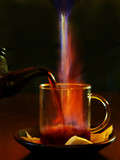 hot drink poster