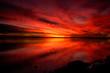 nature - fiery sunset