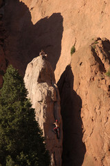 people - rock climber