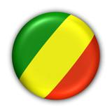 congo republic flag poster