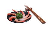 shrimp sashimi still poster