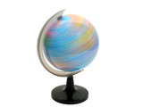 earth globe spinning poster