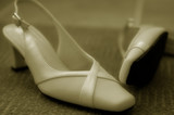 wedding day shoes poster