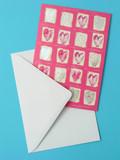valentine card poster