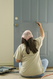 painting a door poster