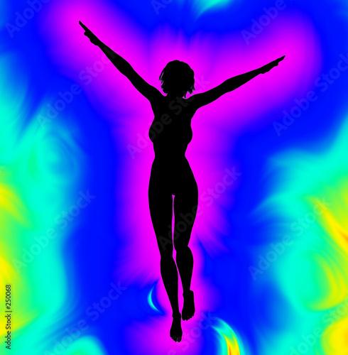 psychedelic women