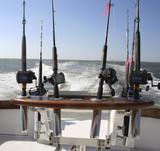 saltwater fishing reels poster