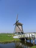 dutch windmill 8 poster