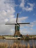 dutch windmill 1 poster