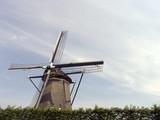 dutch windmill 13 poster