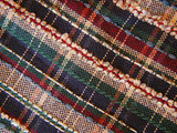 plaid fabric poster