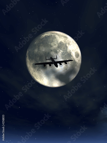 moonshine and plane