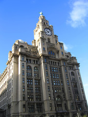 historic building on the mersey