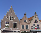 dutch historic facade 1 poster
