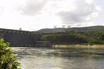 power station (enisey river)