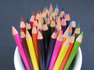 crayons de couleure