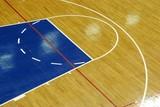 basketball parquet poster
