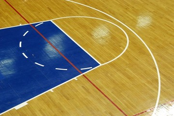 basketball parquet