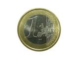 1 euro coin poster