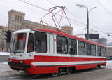 tramway car in moscow